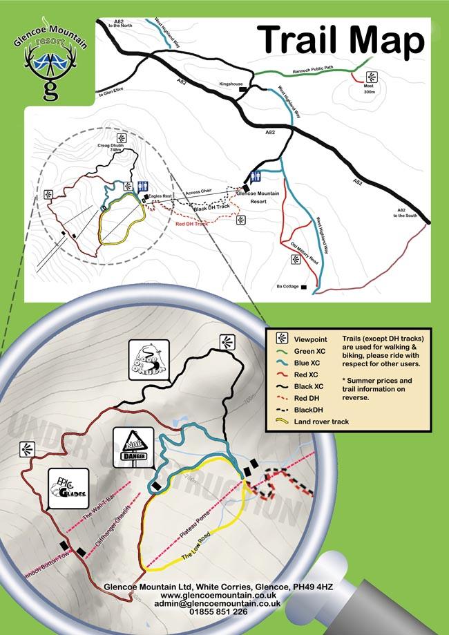 Glencoe-MTB-trail-map