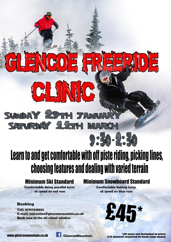 Glencoe Freeride Clinic
