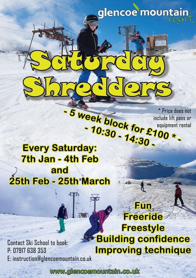 Saturday Shredders