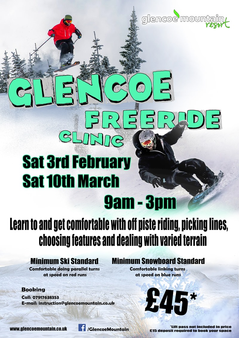 Glencoe Freeride Clinic