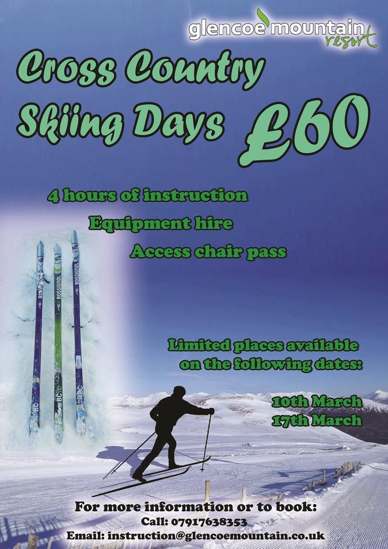 Cross Country Ski Instructing Day