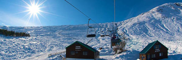 Base of chairlift