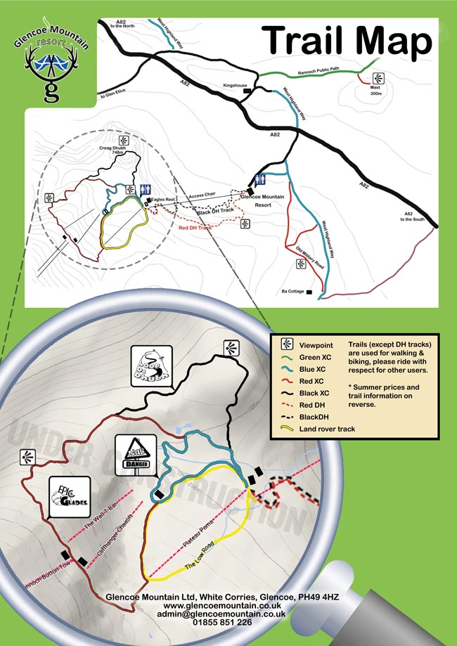 Glencoe-MTB-trail-map