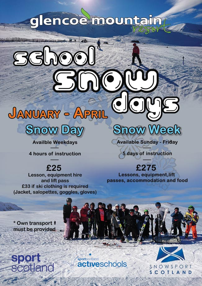Glencoe School snow days and week