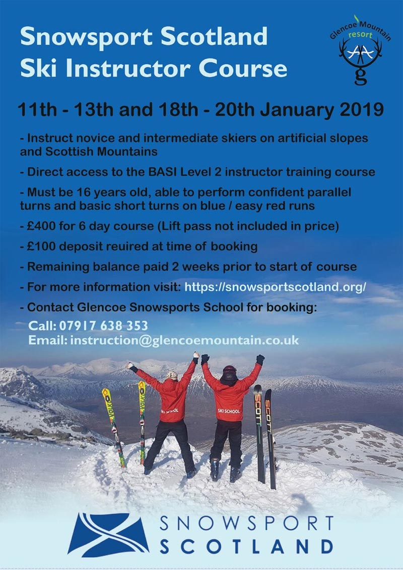 Snowsport Scotland Ski Instructor Course
